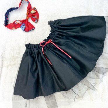 チュールスカートです。
