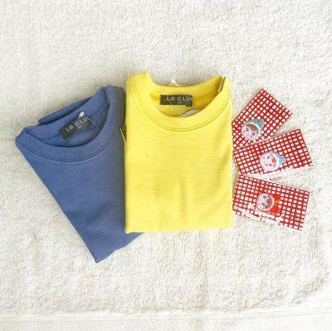 日本製のしっかりとした無地t-shirtsです。