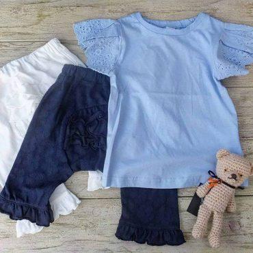 Dolcina サックスブルーのティシャツ素敵です。