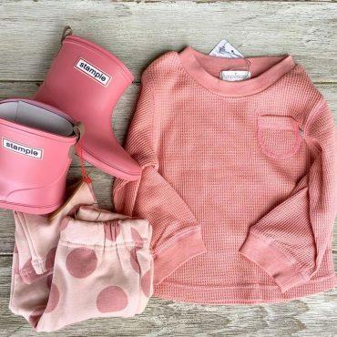 可愛いピンクシリーズです。