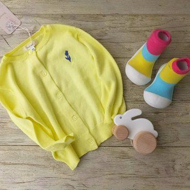 黄色のカーディガン明るい❗春夏物です❤