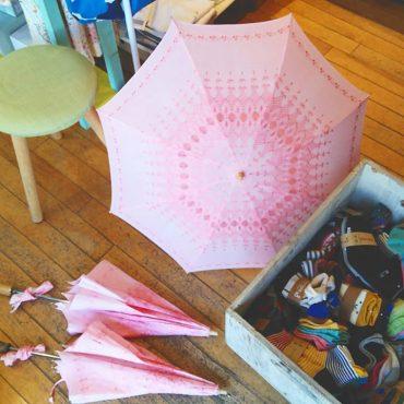 60年代のデッドストック物の日傘です。