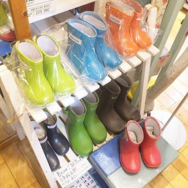 長靴は今年もstampleです。