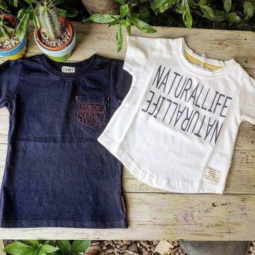 このトドラーTシャツは女の子も可愛い❤。