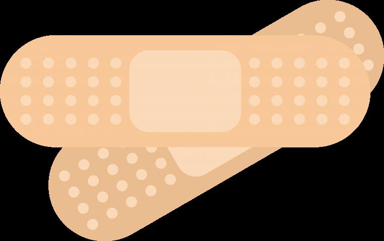地味に役立つバンドエイドの貼り方