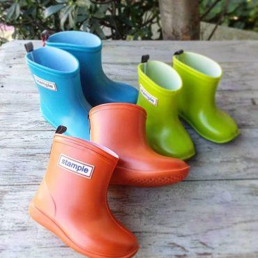 STAMPLE 長靴小さいサイズはこの色にしました。